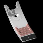 Долото культиватора Quivogne с твердым сплавом SCH 0080B