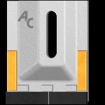 Чистик Amazone GAM 0085 с твердым сплавом