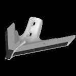 Лапа односторонняя стрельчатая STU 3012