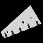 Накладка Lemken с твердым сплавом CSL 1525D (правaя)