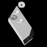Долото Lemken с твердым сплавом PBL 4156NDG (левoe)