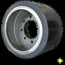 Ролик для тракторов AGCO Challenger серии MT 700/MT 800 (широкий, полиуретан)